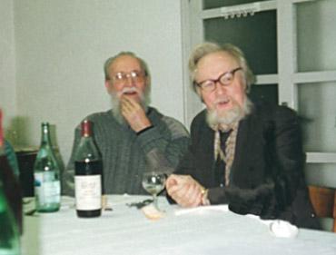 Adol'f Ovčinnikov e Romano Scalfi
